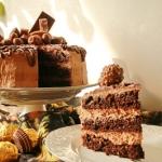 Wykwintny tort Doublechoc