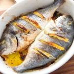 Ryba w calosci z piekarni...