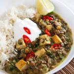 Zielone wege curry z socz...
