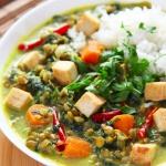 Weganskie curry z zielona...