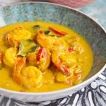 Krewetki w sosie curry....