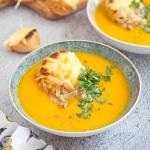 Zupa dyniowo-cebulowa z...