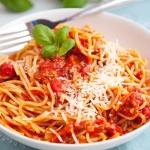 Spaghetti napoli. Prosty...