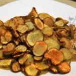 Zdrowe chipsy z topinambu...