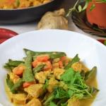 Curry z kurczakiem i gros...