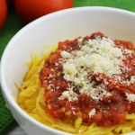 Spaghetti z dyni makarono...