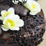 Tort piernikowy z kremem...