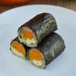 Wegańskie sushi z...