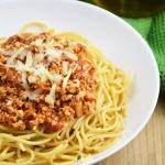 Wegańskie spaghetti...