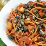 Spaghetti z pomidorami i...