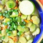 Wegańskie zielone curry...