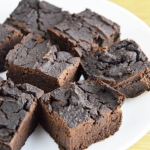 Fit brownies z fasoli...