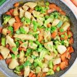 Kurczak z brokułami w...