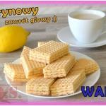 Domowe wafle cytrynowe(z ...