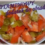 Salatka obiadowa z pomido...