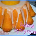 Babka cytrynowa z majonez...