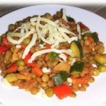 Soczewica z warzywami