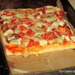 Pizza domowa -...