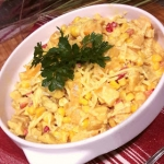 Salatka Curry z brzoskwin...