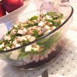 Salatka z buraczkami ,fet...