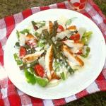 Salatka z grillowanym kur...
