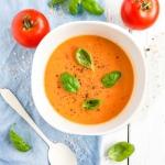 Zupa dyniowo pomidorowa