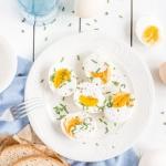 Jajka z chrzanowym majone...