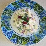Wiosenna salatka jajeczna...