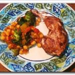 Ciecierzyca z warzywami