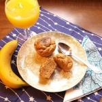 Muffiny bananowo - orzech...