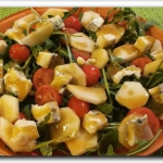 Sałatka z gorgonzolą