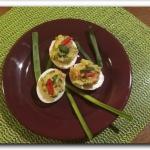 Jajka z guacamole
