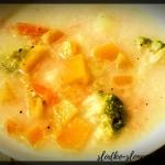 Zupa brokulowa z dynia