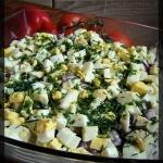 Salatka tzatziki z kurcza...