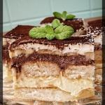 Ciasto waniliowo-kakaowe...