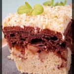 Kakaowo-kokosowe ciasto...