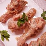 Kurczak w kremowym sosie...