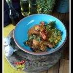 Kurczak w sosie grzybowym...