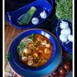 Orientalna zupa z krewetk...