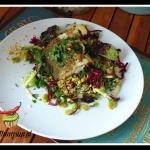 Salatka z czerwona kapust...