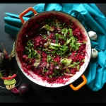 Buraczkowe risotto