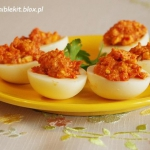 Jajka z Ajvarem