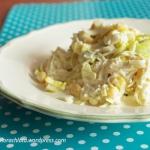 Salatka jajeczna z porem