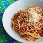 Spaghetti po bolonsku z w...