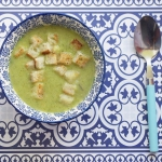 Kremowa zupa ze szparagow...