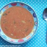 Zupa pomidorowa z lanym...