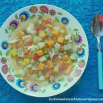 Kolorowa zupa na lato z...