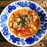 Zupa fasolowa z harissa