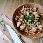 Salatka z pieczonego kala...