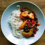 Slodko  kwasny stir-fry